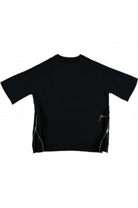 Zipper Sweat Black