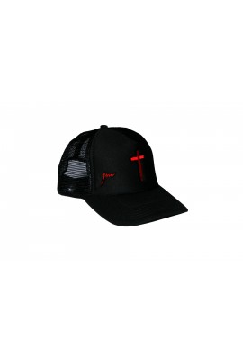 Cross Trucker Cap Black