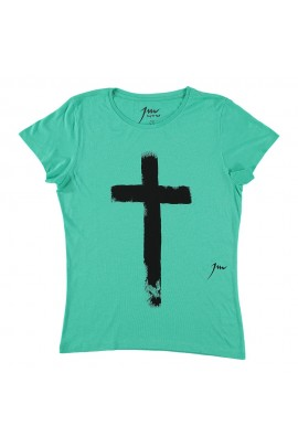 Basic Tee Cross Mint