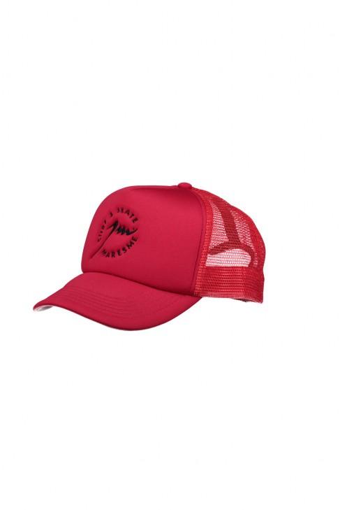 Full Red Trucker Cap