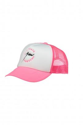 Pink White Trucker Cap