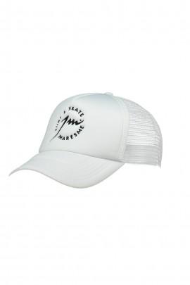 Full White Trucker Cap