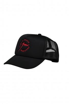 Full Black Trucker Cap