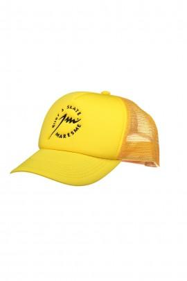 Full Yellow Trucker Cap