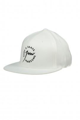 Full White Baseball Cap