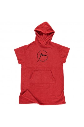 FULL RED PONCHO